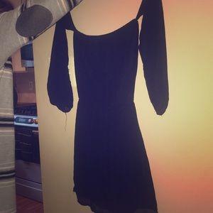 Sabo Skirt Black Off Shoulder Dress. Sz 6